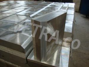 پلیتهای جوشکاری انفجاری شده آلومینیوم و فولاد